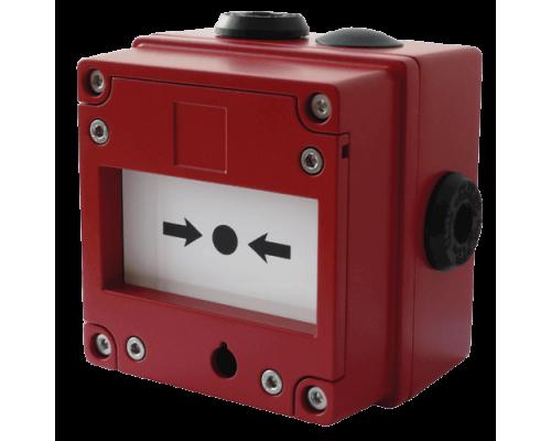 Ручной пожарный извещатель IS-CP4B-BG (Break Glass MCP)