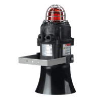 Комбинированная сирена-маяк E2XCS1125UL48DC-AM