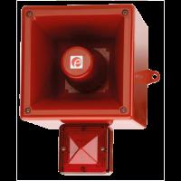Оповещатель с функцией записи и ксеноновым маяком AL121AXXAC115G/R-UL