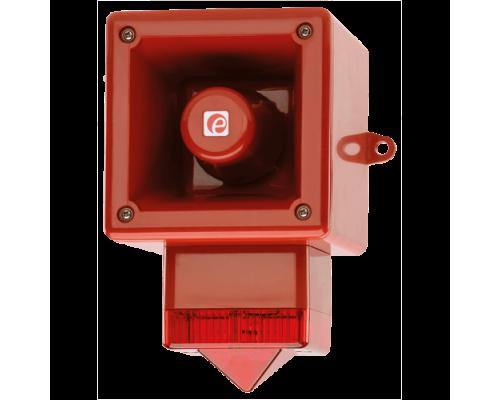Телефонный светозвуковой сигнализатор AL105NSONTELFLASHW/B
