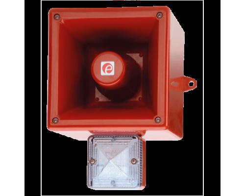 Аварийный светозвуковой сигнализатор AL121XAC230W/R-UL