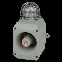 Оповещатель тревоги со светодиодным маяком DL112HAC115G/R-UL