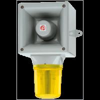 Оповещатель со светодиодным маяком AB112LDADC24R/Y