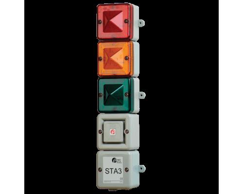 Комбинированный светозвуковой сигнализатор STA3AC230W