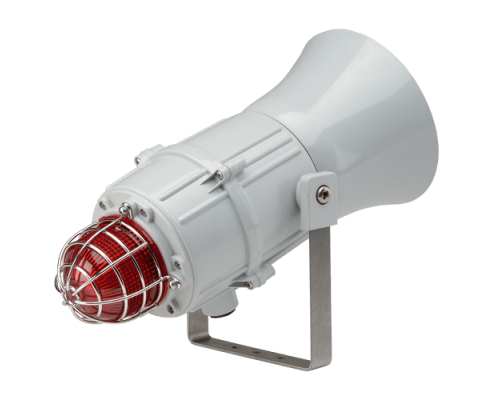Сигнализатор сирена-маяк морского исполнения MCA11205AC115G-RD