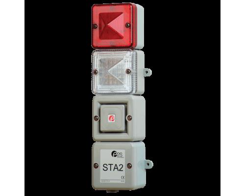 Комбинированный светозвуковой сигнализатор STA2AC230R