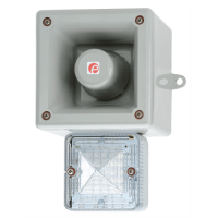 Оповещатель с функцией записи и светодиодным маяком AL105NAXHAC230G/R-UL
