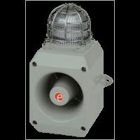 Оповещатель с функцией записи и светодиодным маяком DL105AXHDC024G/R-UL