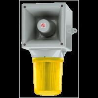 Оповещатель со светодиодным маяком AB121LDAAC115G/Y