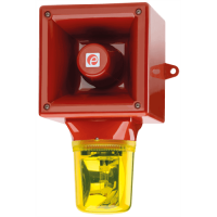 Оповещатель с проблесковый галогеновым маяком AB112RTHDC24R/A