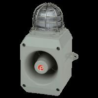 Оповещатель тревоги со светодиодным маяком DL112HAC230G/R-UL