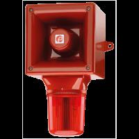 Оповещатель с ксеноновым стробоскопическим маяком AB112STRDC12R/G
