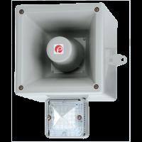 Оповещатель с функцией записи и светодиодным маяком AL121AXHAC230G/R-UL