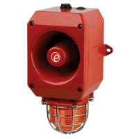 Оповещатель тревоги c ксеноновым маяком DL112XAC115G/R-UL