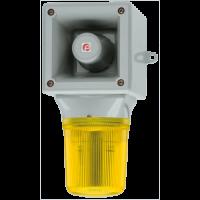 Оповещатель со светодиодным маяком AB105LDADC24G/B-PL