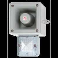 Оповещатель с функцией записи и светодиодным маяком AL105NAXHAC230R/B-UL