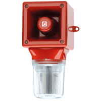 Оповещатель с ксеноновым стробоскопическим маяком AB105STRDC48G/Y