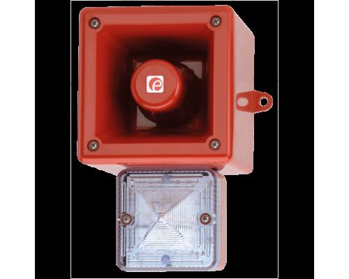 Аварийный светозвуковой сигнализатор AL105NXAC230R/B-P