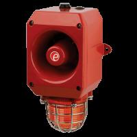 Оповещатель тревоги c ксеноновым маяком DL112XDC024G/R-P