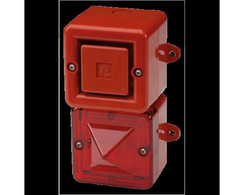 Телефонный светозвуковой сигнализатор AL100SONTELFLASHW/C