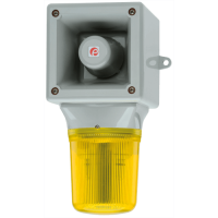 Оповещатель со светодиодным маяком AB105LDADC24G/R