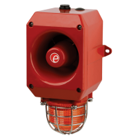 Оповещатель тревоги c ксеноновым маяком DL105XDC012G/R-UL