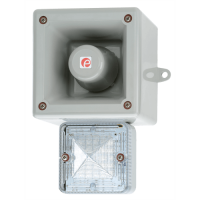 Оповещатель с функцией записи и светодиодным маяком AL105NAXHDC024G/W-UL