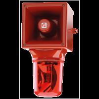 Оповещателей с галогеновым маяком AB121RTHAC230R/G
