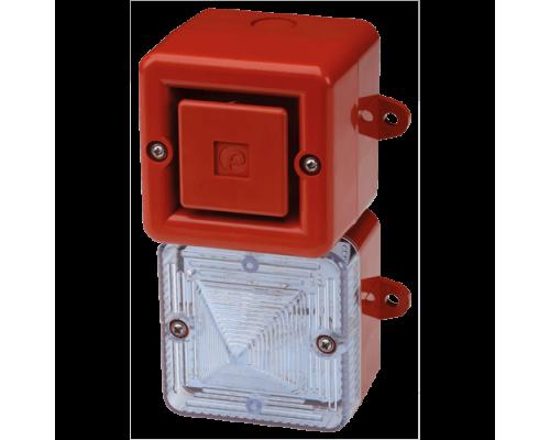 Аварийный светозвуковой сигнализатор AL100XAC230R/C