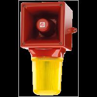 Оповещатель с ксеноновым стробоскопическим маяком AB121STRDC48R/Y