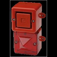 Телефонный светозвуковой сигнализатор AL100SONTELFLASHG/R