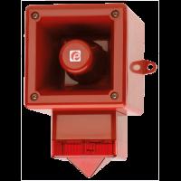Телефонный светозвуковой сигнализатор AL105NSONTELFLASHR/O