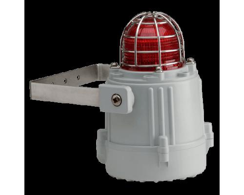 Оптический сигнализатор маяк морского исполнения на светодиодах MBL1DC24G-CL