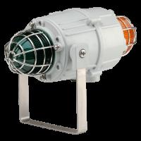 Оптический сигнализатор морского исполнения маяк MCB00505DC24G-R/R