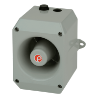 Аварийный звуковой сигнализатор D112AC115R-UL