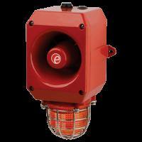 Искробезопасный оповещатель тревоги со светодиодным маяком IS-DL105L (Combination) 1-13-030