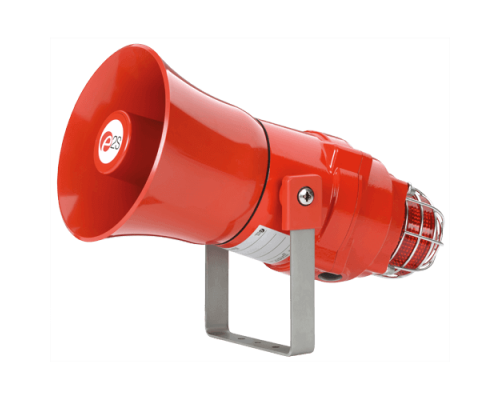 Взрывозащищенная комбинированная сирена-маяк BEXCS110L1D48DC-AM