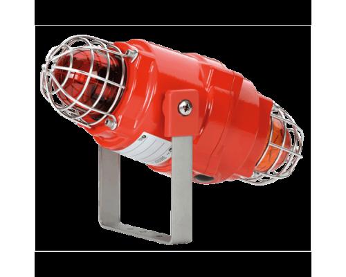 Взрывозащищенный сдвоенный маяк BEXCBG0505D24DC-R/C