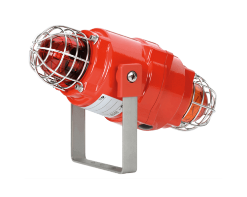 Взрывозащищенный сдвоенный маяк BEXCBG0505D230AC-C/Y