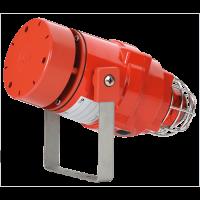 Взрывозащищенная комбинированная сирена-маяк BEXDCS11005DR48DC-RD