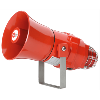 Взрывозащищенная комбинированная сирена-маяк BEXDCS110L1D24DC-GN