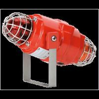 Взрывозащищенный сдвоенный маяк BEXCBG0505D24DC-R/Y