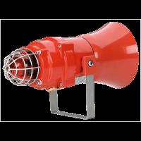 Взрывозащищенная комбинированная сирена-маяк BEXCS11005D12DC-RD