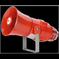 Взрывозащищенная комбинированная сирена-маяк BEXCS110L1DR230AC-RD