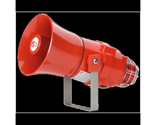 Взрывозащищенная комбинированная сирена-маяк BEXCS110L1DR24DC-RD