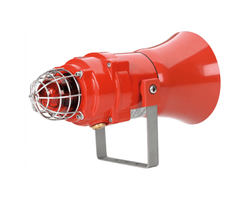Взрывозащищенная комбинированная сирена-маяк BEXCS11005D24DC-RD