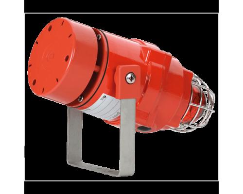 Взрывозащищенная комбинированная сирена-маяк BEXDCS11005DR12DC-RD