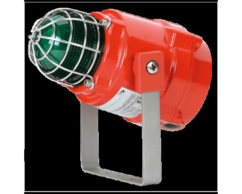 Взрывозащищенный светодиодный маяк BEXBGL1D24DC-GN-GN