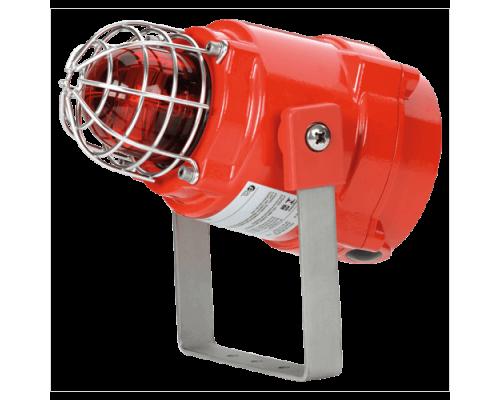 Телефонный световой взрывозащищенный оповещатель BEXTBG05D230AC-RD