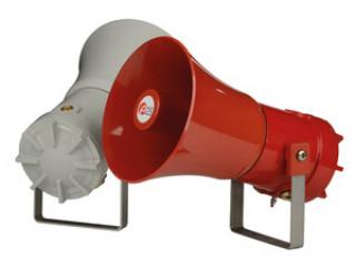 Новая серия D1x - сигнальные горны Class I & Class II Division 1 с ксеноновыми стробоскопами и громкоговорителями